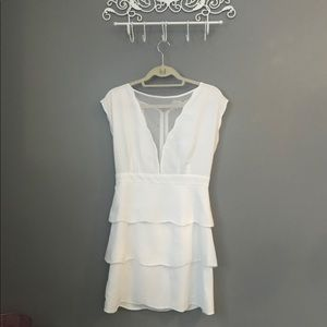 White lace layered dress from Urban Outfitters